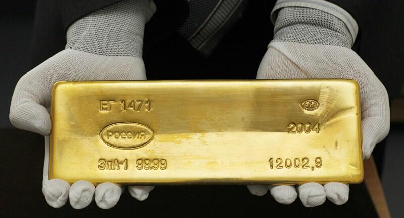 La Russie se débarrasse de ses dollars et mise sur l'or
