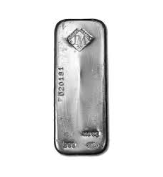 Lingot d'argent  100 onces - Johnson Matthey