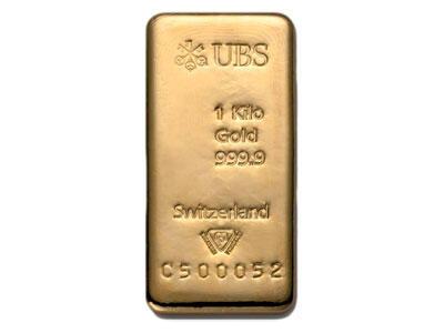 Lingot d'or  1 kilogramme - UBS