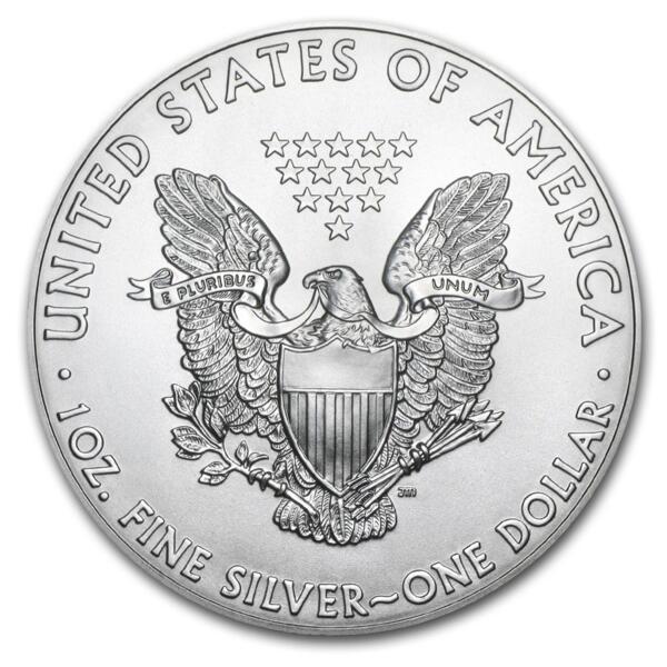 American Eagle argent 1 once - Monster box de 500 - 2014 - US Mint