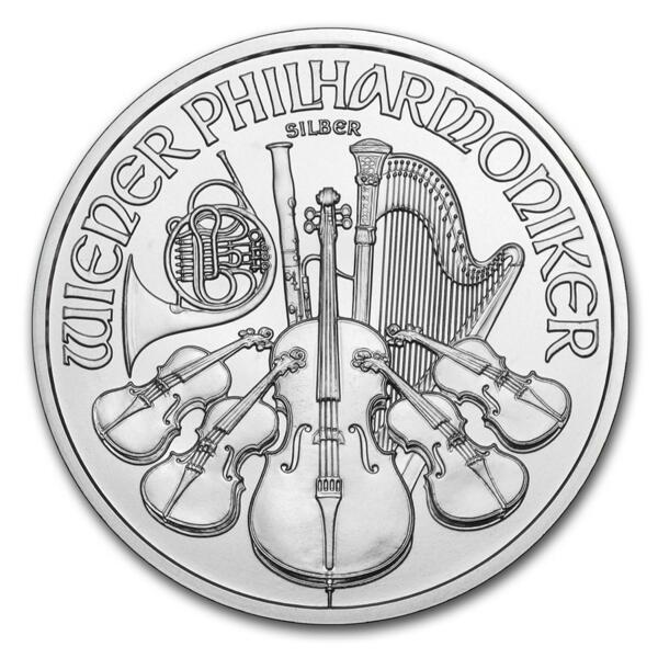 Philharmonique argent 1 once - Monster box de 500 - 2014 - Austrian Mint