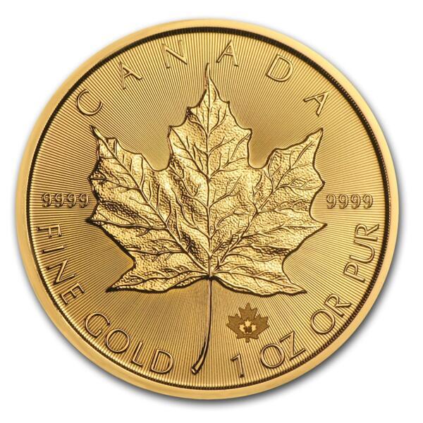 Maple Leaf or 1 once - Pack de 10 - 2016 - Royal Canadian Mint