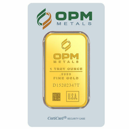Lingot d'or  1 once - Ohio Precious Metals