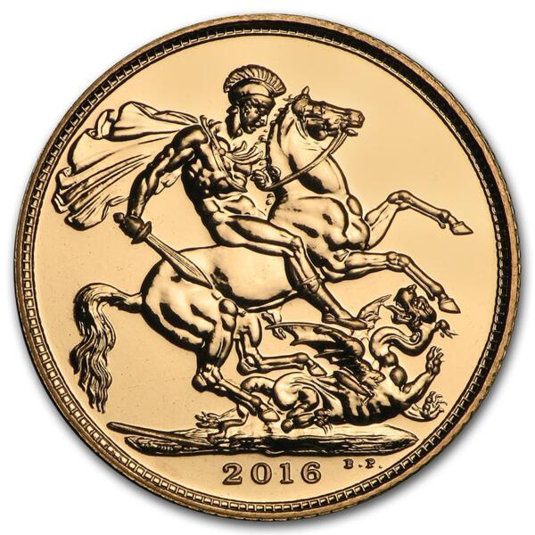 Souverain or Reine Elisabeth or 7.98 grammes - Pack de 10 - 2016 - The Royal Mint