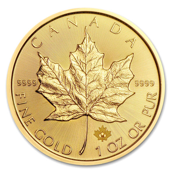 Maple Leaf or 1 once - Royal Canadian Mint