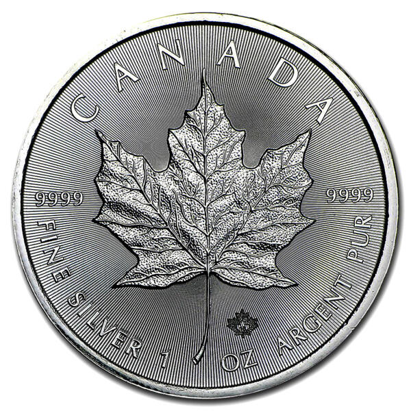 Maple Leaf argent 1 once - Royal Canadian Mint