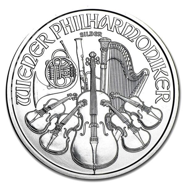 Philharmonic argent 1 once - Austrian Mint