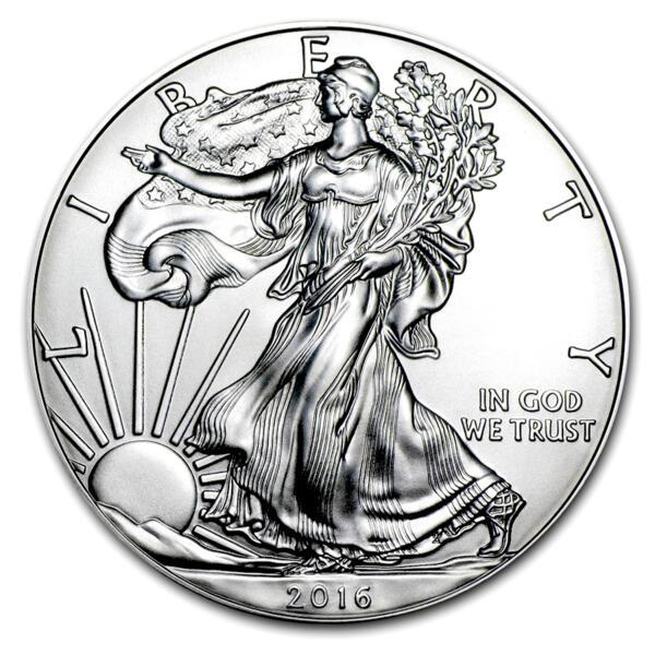 American Eagle argent 1 once - Monster box de 500 - 2016 - US Mint