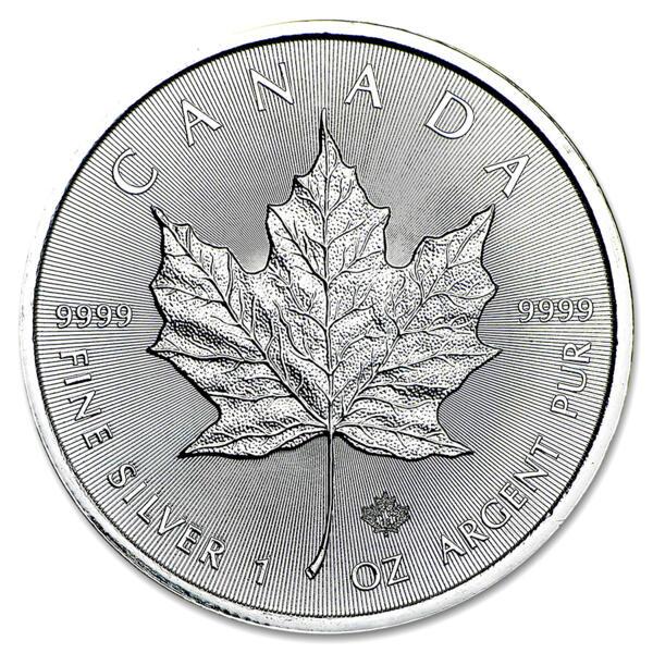 Maple Leaf argent 1 once - Monster box de 500 - 2016 - Royal Canadian Mint