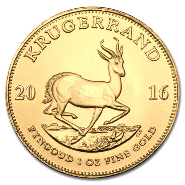 Krugerrand or 1 once - Pack de 10 - 2016 - South African Mint