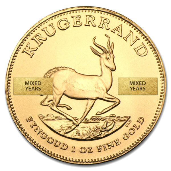 Krugerrand or 1 once - South African Mint