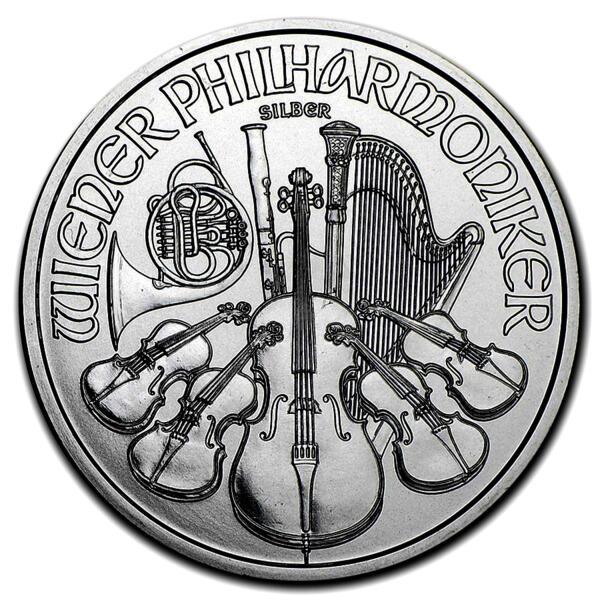 Philharmonique argent 1 once - Monster box de 500 - 2016 - Austrian Mint