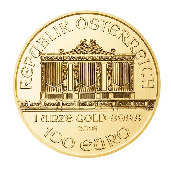 Philharmonique or 1 once - Pack de 10 - 2016 - Austrian Mint