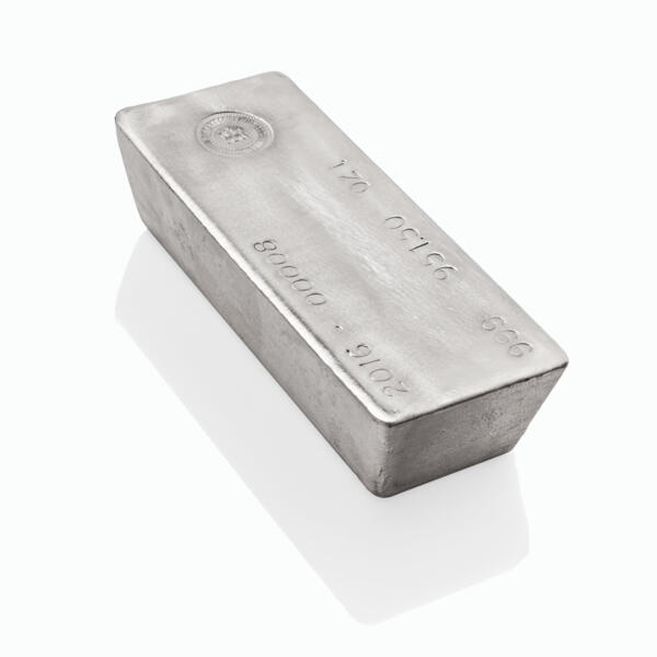Lingot d'argent  1000 onces - Royal Canadian Mint