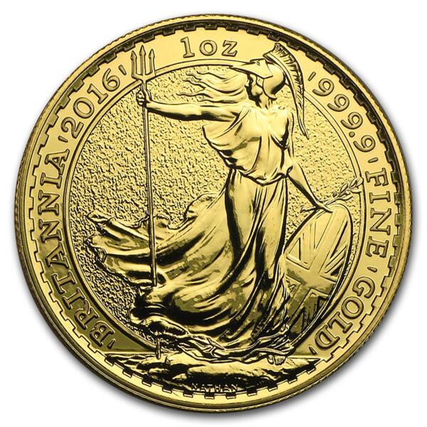 Britannia or 1 once - Pack de 10 - 2016 - The Royal Mint