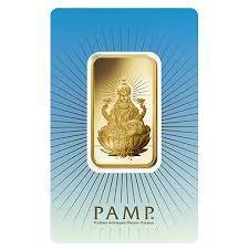 Lingot d'or religieux Lakshmi 1 once - PAMP
