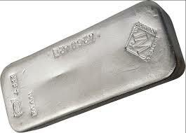 Lingot d'argent  1000 onces - Johnson Matthey