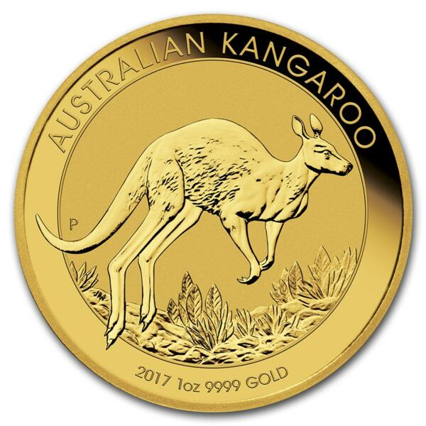Kangourou or 1 once - Pack de 10 - 2017 - Perth Mint