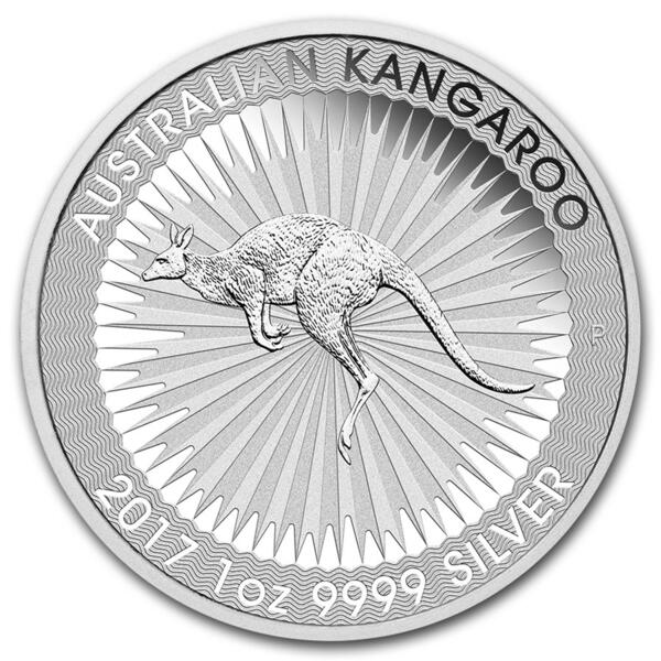 Kangourou argent 1 once - Monster box de 250 - 2017 - Perth Mint