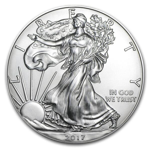 American Eagle argent 1 once - Monster box de 500 - 2017 - US Mint