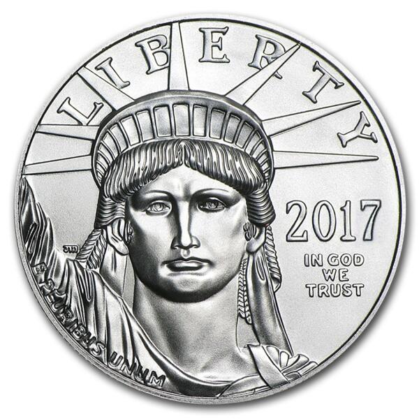 American Eagle platine 1 once - Pack de 10 - 2017 - US Mint