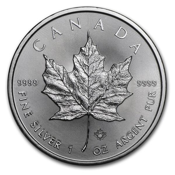 Maple Leaf argent 1 once - Monster box de 500 - 2017 - Royal Canadian Mint