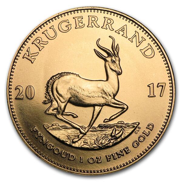 Krugerrand or 1 once - Pack de 10 - 2017 - South African Mint