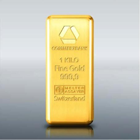 Lingot d'or  1 kilogramme - Commerzbank