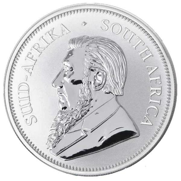 Krugerrand argent 1 once - Monster box de 500 - 2018 - South African Mint