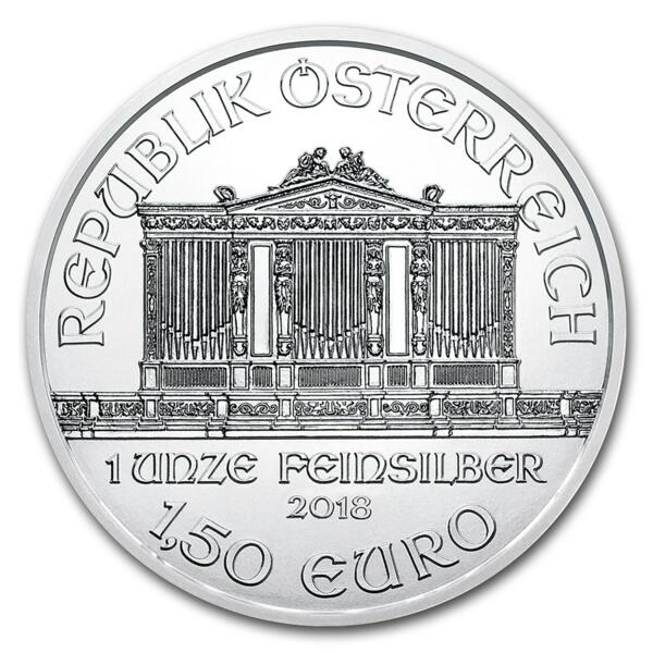 Philharmonique argent 1 once - Monster box de 500 - 2018 - Austrian Mint