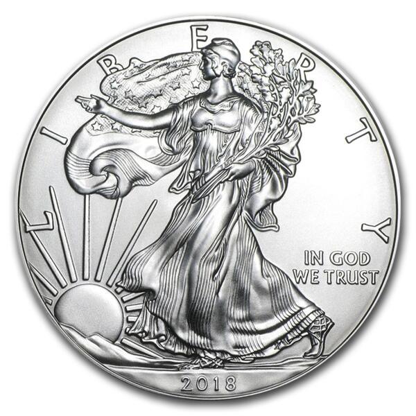 American Eagle argent 1 once - Monster box de 500 - 2018 - US Mint
