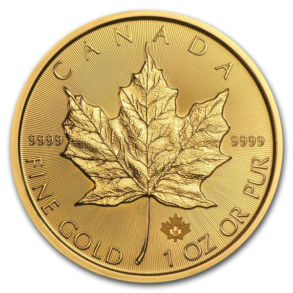 Maple Leaf or 1 once - Pack de 10 - 2018 - Royal Canadian Mint