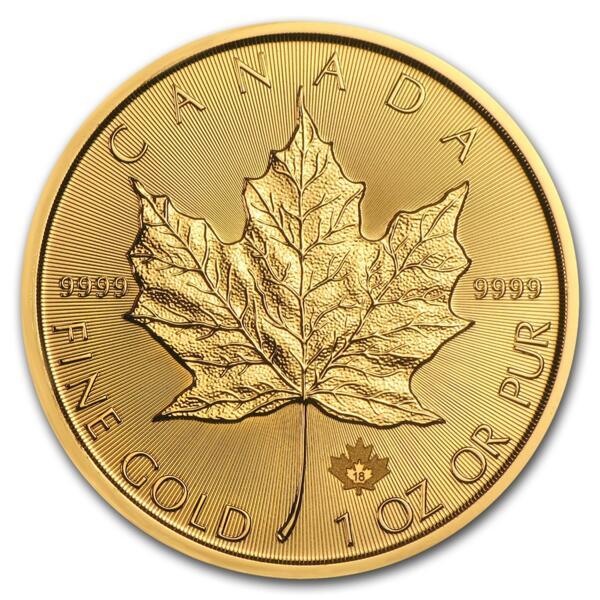 Maple Leaf or 1 once - Pack de 10 - 2018 - Royal Canadian Mint