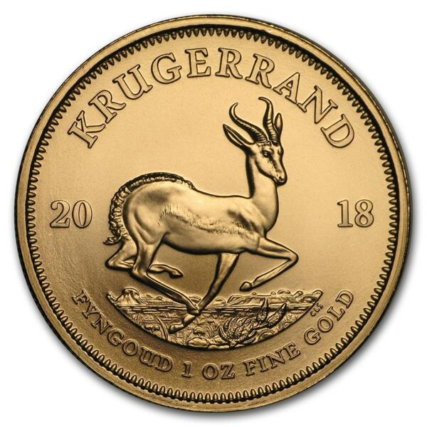 Krugerrand or 1 once - Pack de 10 - 2018 - South African Mint