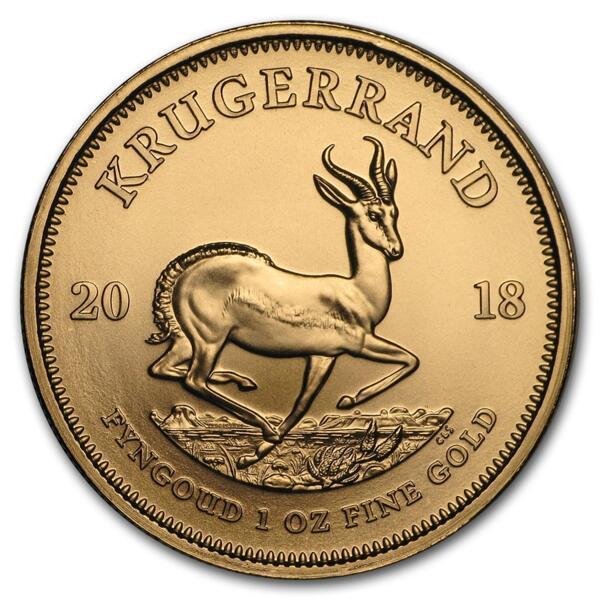 Krugerrand or 1 once - Pack de 10 - 2018 - South African Mint