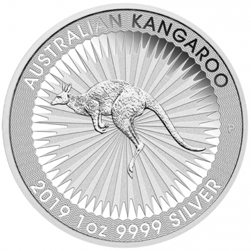 Kangourou argent 1 once - Monster box de 250 - 2019 - Perth Mint