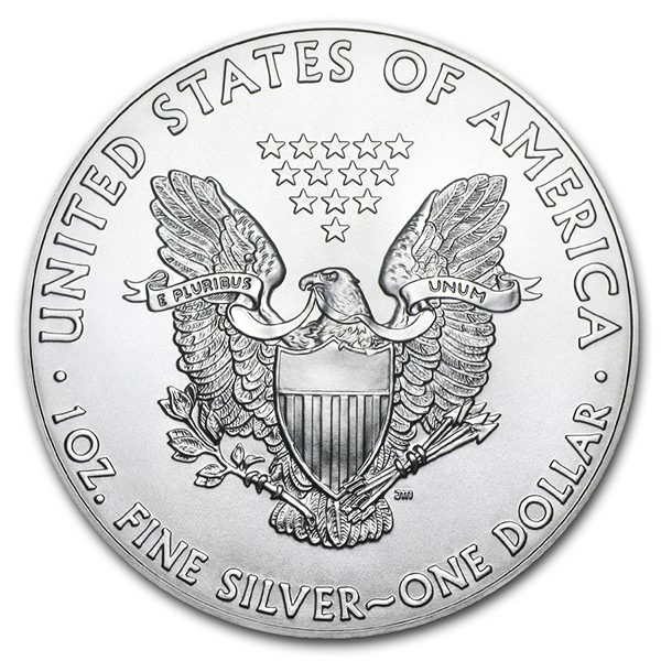 American Eagle argent 1 once - Monster box de 500 - 2019 - US Mint