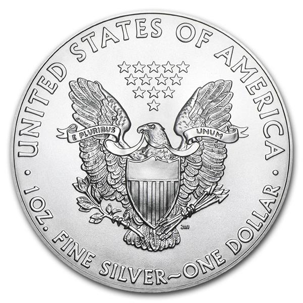 American Eagle argent 1 once - Monster box de 500 - 2019 - US Mint