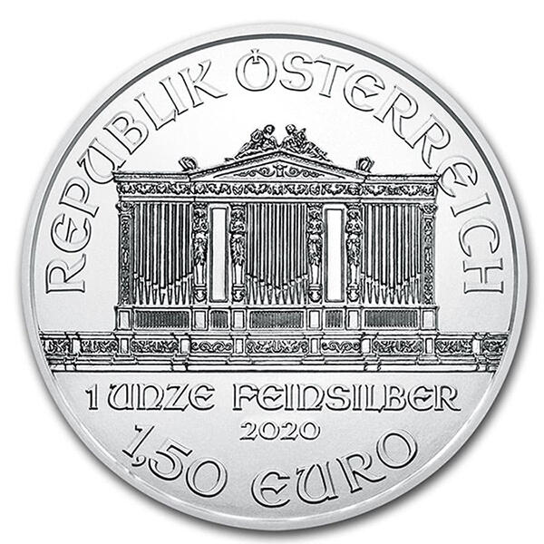 Philharmonique argent 1 once - Monster box de 500 - 2020 - Austrian Mint
