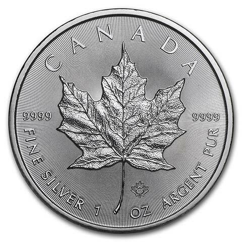 Maple Leaf argent 1 once - Monster box de 500 - 2020 - Royal Canadian Mint