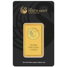 Lingot d'or  1 once - Perth Mint