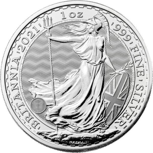 Britannia argent 1 once - Monster box de 500 - 2017 - The Royal Mint