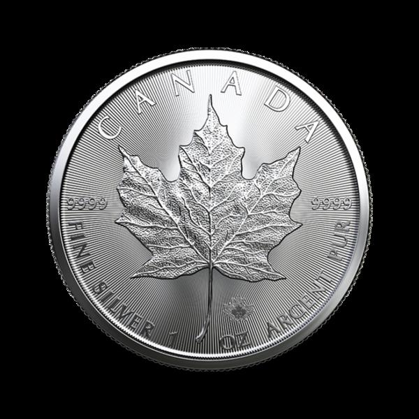 Maple Leaf argent 1 once - Monster box de 500 - 2021 - Royal Canadian Mint