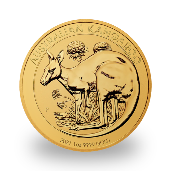 Kangourou or 1 once - Pack de 10 - 2021 - Perth Mint