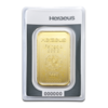 Lingot d'or  50 grammes - Heraeus
