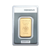 Lingot d'or  1 once - Heraeus