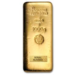 Lingot d'or  1 kilogramme