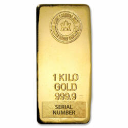 Lingot d'or  1 kilogramme - Royal Canadian Mint