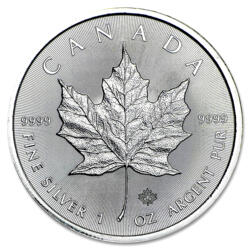 Maple Leaf argent 1 once - Monster box de 500 - 2016 - Royal Canadian Mint