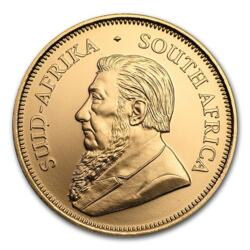 Krugerrand anniversaire or 1 once - Pack de 10 - 2017 - South African Mint